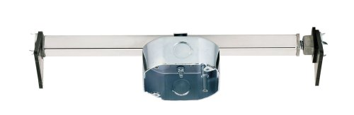 Westinghouse Lighting 0110000 Saf-T-Brace for Ceiling Fans, 3 Teeth, Twist and Lock Ceiling Mounting Bracket