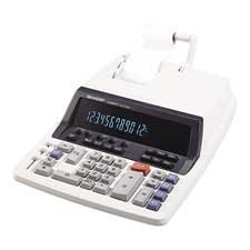 12-Digit Commercial Calc.,2-Clr Printing,9-7/8 quot;x12-1/2 quot;x3 quot; by Sharp®