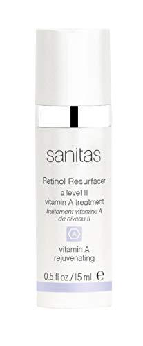 (Sanitas Skincare Retinol Resurfacer, Resurfacing Night Treatment Lotion, 0.5 Ounce)