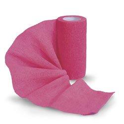 Sureflexx Self-Adhesive Bandages - Hot Pink Box of 18 Rolls - C30176N by Sureflexx