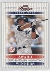 Derek Jeter #279/1,996 (Baseball Card) 2003 Playoff Prestige - Award Winners #AW-15