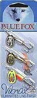 Fox Spinner (Blue  Fox 60-10-900IC Blue Fox Tri-Pack Contains 3 Each #1 Plain Super Vibrax, 42743)