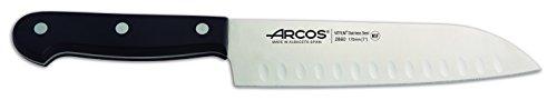 Arcos Universal 7-Inch Granton Edge Santoku Knife