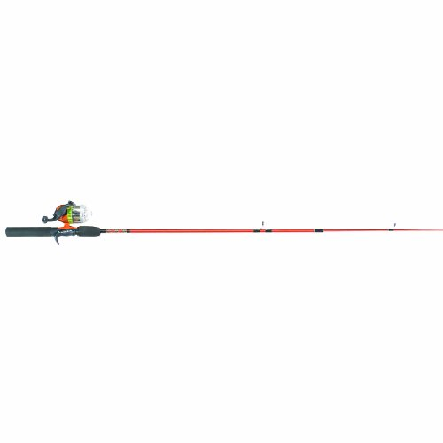 Hunter Roddy (Master Fishing Tackle Roddy Hunter LED Lites 5 1/2' 2pc Spincast Combo, Burnt Orange)