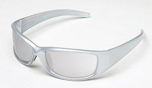 Body Specs Sunglasses V-8 Crystal Silver Nylon Frame Silver Lens V-8 - Specs Sunglasses Body