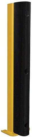 Pallet Rack Protector, 36-1/4 x 8-1/16 in