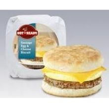 Advance Pierre Hot N Ready Sausage Egg and Cheese Biscuit Sandwich, 6.4 Ounce - 12 per case. (Cheese Biscuits Best)