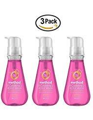 - Method Foaming Body Wash - Water Flower - 18 oz (Pack Of 3)