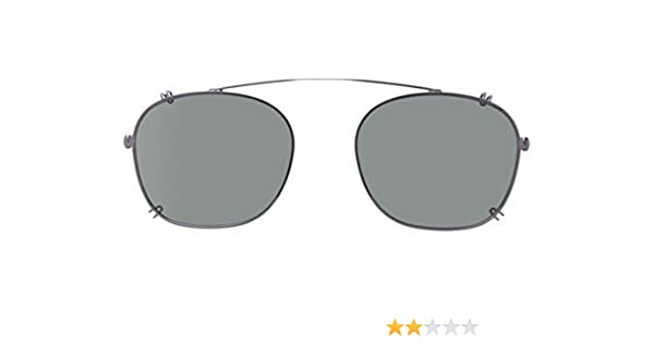 4541a8b91a Persol Men s PO3007C Clip-Ons Matte Anthracite Polar Green 52mm at Amazon  Men s Clothing store