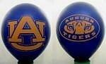 NCAA Auburn Tigers 10-Pack 11'' Latex Party Balloons - Navy - Tigers Auburn Paper