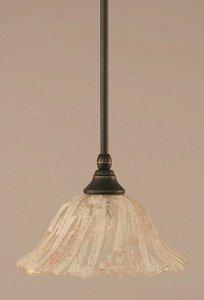 Toltec Lighting 23-DG-7193 Stem Mini Pendant with Hang Straight Swivel with 10