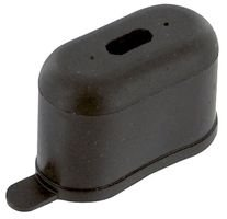 Cornell-Dubilier OC1 Hardware; Boot; Capacitor; 1010CRS; Neoprene Terminal Insulator; 1.44In.H, Clamp (10 pieces)