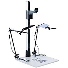 Smith Victor Pro 42'' Copy Stand Kitw/LED Light Kit by Smith-Victor