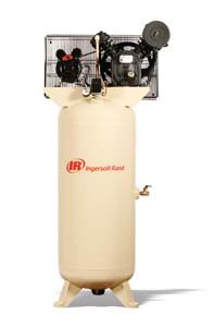 - Ingersoll Rand Type-30 Reciprocating Air Compressor - 5 HP, 230 Volt 1 Phase, Model# (Ingersoll Rand Compressor Parts)