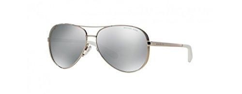 Michael Kors MK5004 Chelsea Sunglasses, Silver (Glasses Frames Michael Kors)