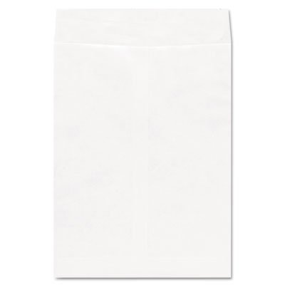 Tyvek Envelope, 9 x 12, White, 100/Box