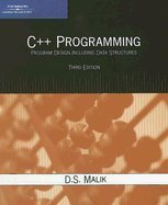 C++ Programming- Program Design Including Data Structures 3rd EDITION by CoursrTrchnologyPTR,2006