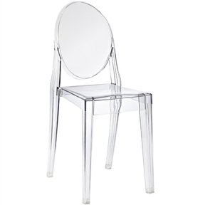 Swell Amazon Com Lordbee Nice New Chic Modern Clear Acrylic Spiritservingveterans Wood Chair Design Ideas Spiritservingveteransorg