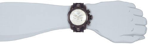 White Mother Of Pearl Chronograph - Invicta Men's 1219GMBBB Venom Reserve Ocean Quest Chronograph White Mother-Of-Pearl Black Polyurethane Watch