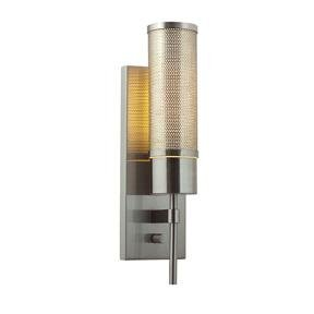 - Cylindrical Wall Sconce with On/Off Switch
