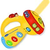 SOKY Educational Toys for 1-3 Year Old Girls Boys, Rotating Musical Flashlights for Kids Musical...