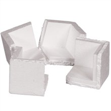 3'' x 3'' x 3'' Inside Dimensions Foam Corners Wall Thickness: 3/4'' (PF200) Category: Edge Protectors and Strap Guards