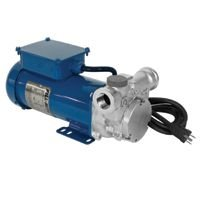Fill-Rite FRSA120800MN Stainless Steel Rotary Vane Pump, 3/4'' BSPP, 115 VAC