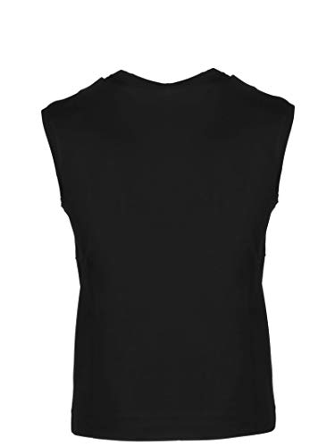 Versace Tank Top Algodon A82235a201952a2024 Negro Collection Mujer 7arqp7w