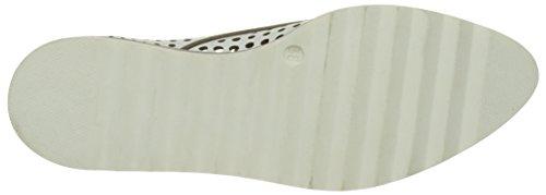 Donna Piu 52719 Ruby, Zapatos de Cordones Derby para Mujer Blanc (Vacchetta Bianco)