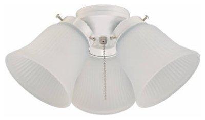 ウェスティングハウス照明7781400ホワイト天井ファンライトキット、3ライト 2 7781400 1 2  B00623EHXU