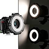 - Neewer® R-160 160 Pieces 5600K 10W Mini LED Macro Ring Light with 6 Adapter Rings (49mm/52mm/55mm/58mm/62mm/67mm)for Macro Canon/Nikon/Sony/Sigma/Tamron Lens