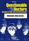 Questionable Doctors, Sidney Wolfe and Kathryn M. Franklin, 0937188735