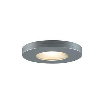 (JESCO Lighting PK501BA Straight-edged Slim Disk with Frosted Glass Lens)