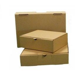 25 Cajas cartón kraft marrón 24 x16 x 4,5 cm para tus envíos: Amazon.es: Oficina y papelería