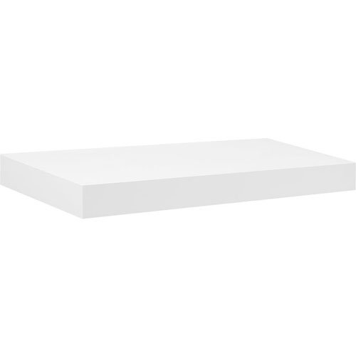 Dolle Shelving 22.5'' x 10'' Big Boy White Floating Shelf with Two Invisible Brackets by Dolle Shelving (Image #1)