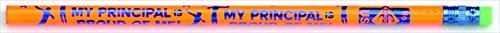 Principals Award Pencils - Moon Products 081025 My Principal is Proud of Me Motivational Award Pencil with Eraser44; Pack - 12