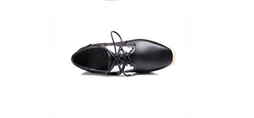 Slope casuali piatto Beauqueen spesso pompe ali di Europa 43 speciale Paillettes donne e delle le Piattaforma estate Black calza oro Size Dimensione 34 tallone femminile nero pattini ApHWvfAnq