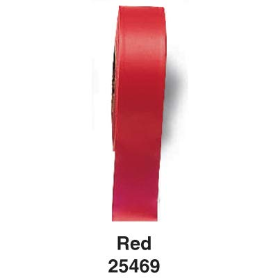 """Standard Flagging Tape, RED300 Red 1.188"""" W Roll of 300 Feet"""