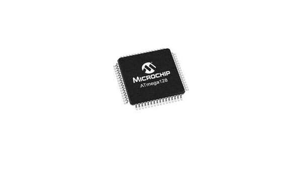 Qty-2 ATMEL ATMEGA1281-16AU 8-Bit 16MHz 128KB Flash 64-TQFP Microcontroller IC