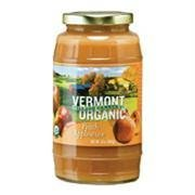 Vermont Village Organic Applesauce Peach made in Vermont