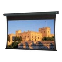 DA-Lite 97993 Tensioned Large Cosmopolitan Electrol Square Format - Projection screen (rear, motorized, 120 V) - Da-Tex - black with light textured powder coat
