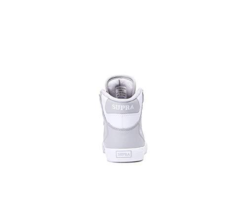 Grey uomo Sneaker Supra S18091 Skytop Lt White 7nqHx8wBX