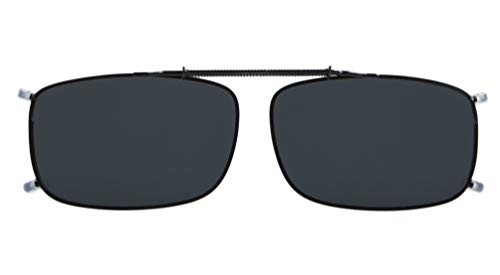 (Eyekepper Easyclip Spring Polarized Clip On Sunglasses 2 3/16