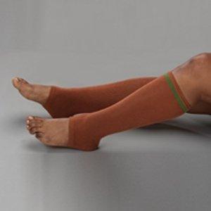 (Protective Skin Sleeve SkinSleeves - Item Number 6001PR - Medium Leg, Light Tone, Regular - 1 Pair / Pair)