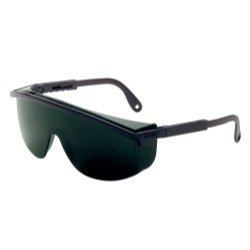Astrospec 3000 Black Frame Safety Glasses with 5.0 Shade Lens Tools Equipment Hand Tools
