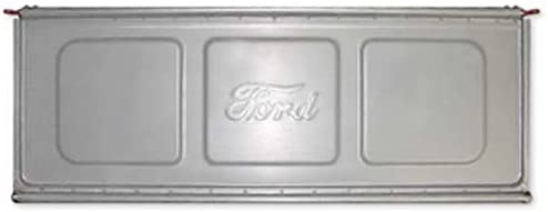 MACs Auto Parts 48-13142 F-1 Pickup Truck Tailgate - Die Stamped Steel - Authentic Script