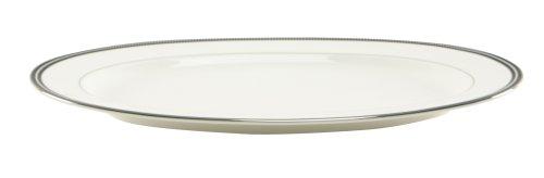 Nikko Midnight Pearl Oval Platter, 14 1/4
