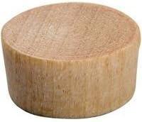 "3/8"" Birch Wood Screw Hole Plugs Flat Head Buttons 1000 Pcs"