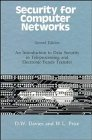 img - for Security for Computer Networks: An Introduction to Data Security in Teleprocessing and Electronic Funds Transfer (Wiley Series in Communication and Distributed Systems) book / textbook / text book