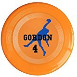AOLM Football Player NO.4 Outdoor Game Frisbee Sport Disc Orange